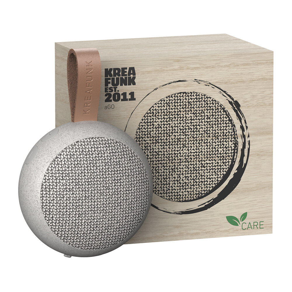 KREAFUNK - aGo Care Edition Bluetooth Speaker - Wheat
