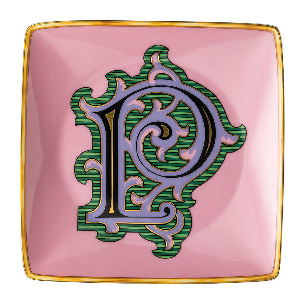 Versace Home - Holiday Alphabet Bowl - P