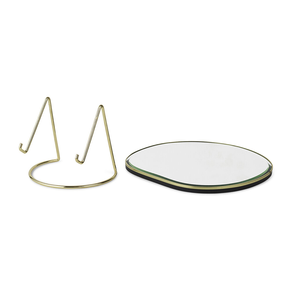 Ferm Living - Pond Table Mirror - Brass