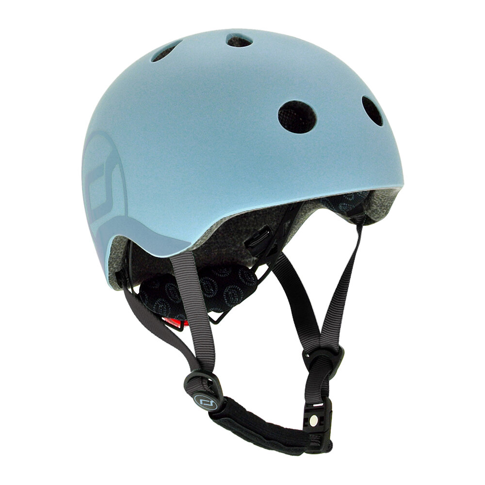 Scoot and Ride - Kids Helmet - Steel - S-M