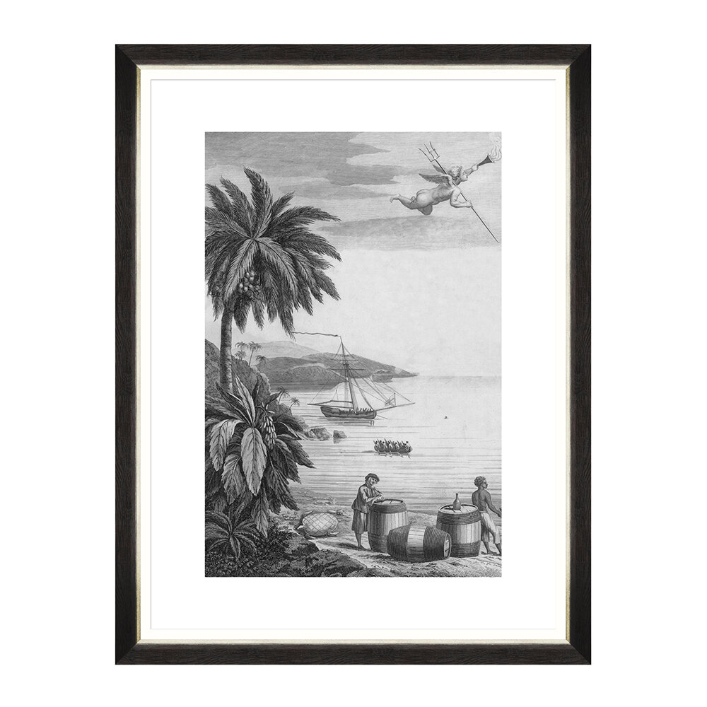 MINDTHEGAP - Colonial Port Framed Print - I