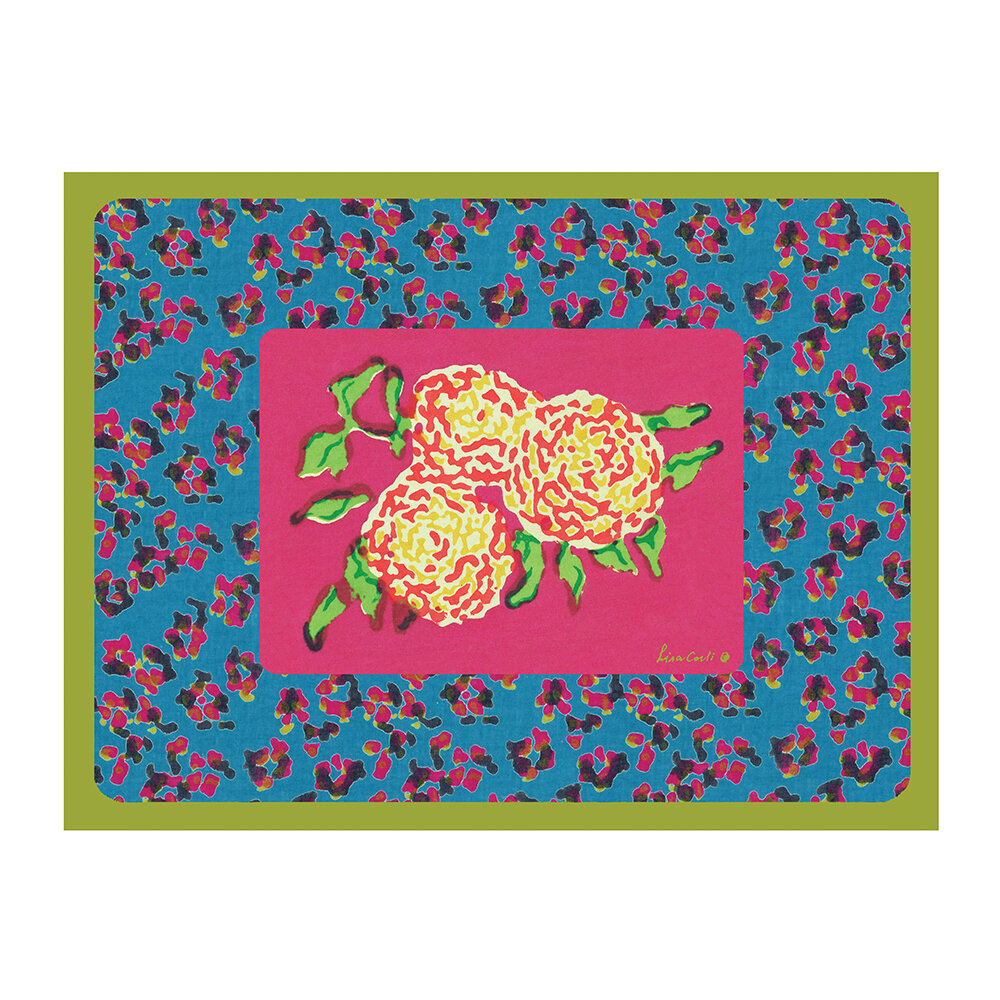 Lisa Corti - Leopard Rectangular Placemat - Rany