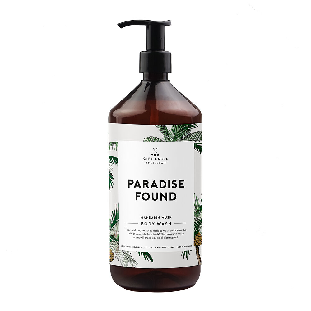 The Gift Label - Body Wash - Paradise Found