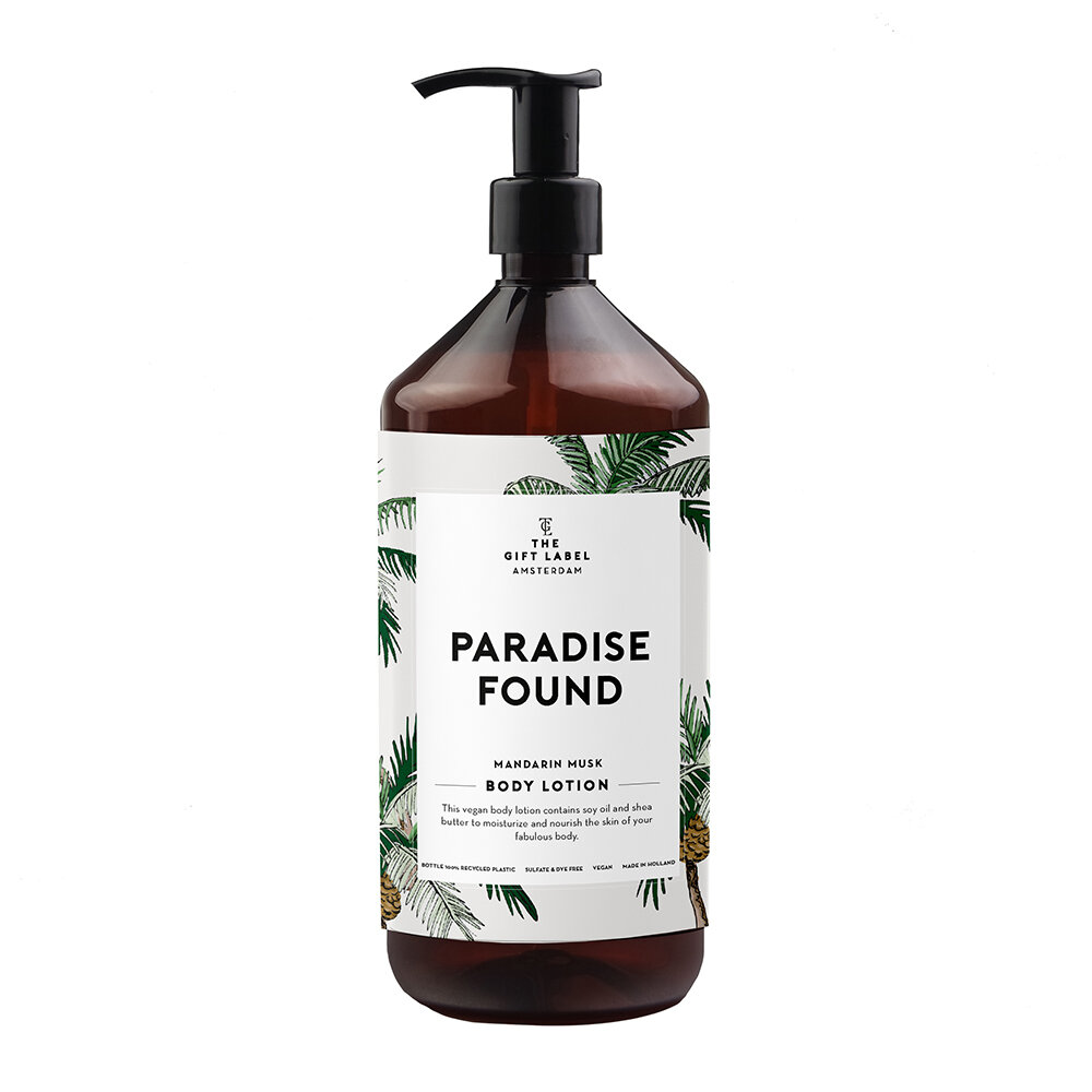 The Gift Label - Lotion pour le Corps - Paradise Found