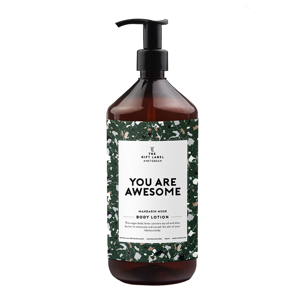 The Gift Label - Body Lotion - You Are Awesome