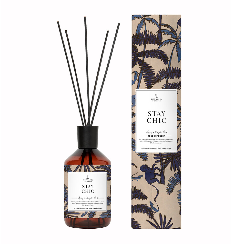 The Gift Label - Reed Diffuser - Stay Chic