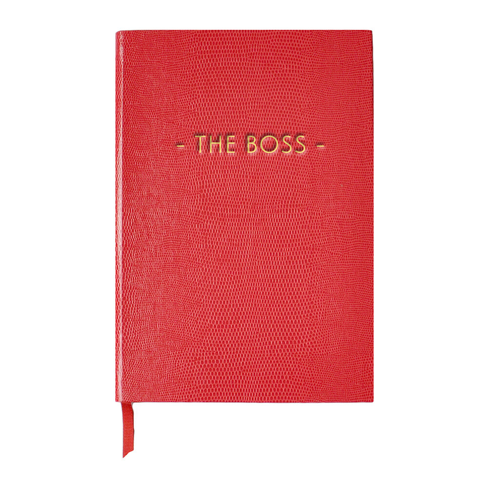 Sloane Stationery - A5 Notebook - Girl With Attitude - 'The Boss'