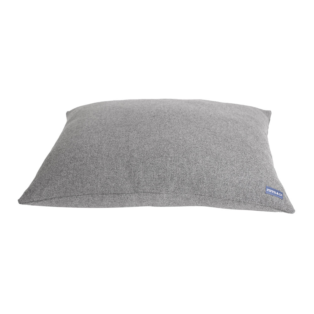 Pippa & Co - Pillow Dog Bed - Light Grey - Small