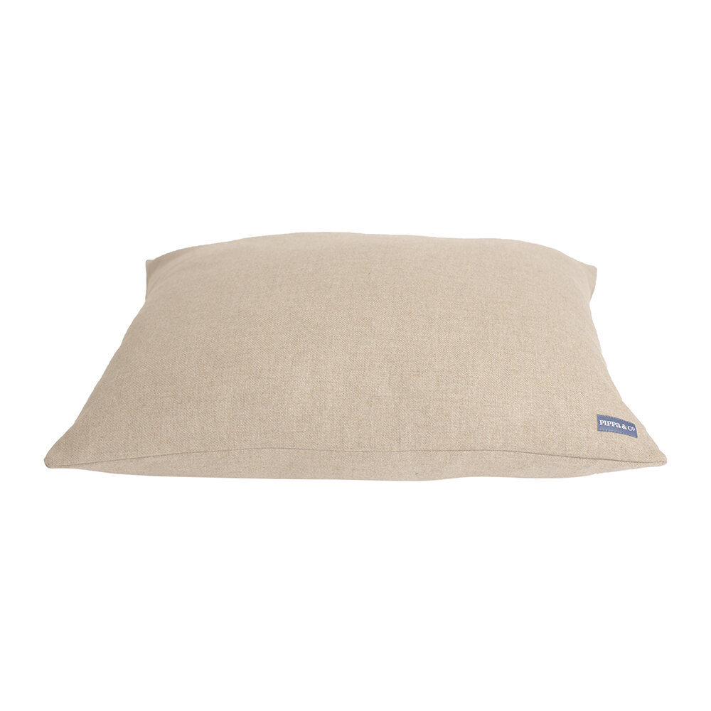 Pippa & Co - Pillow Dog Bed - Oatmeal - Small