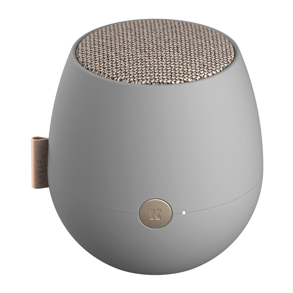 KREAFUNK - aJazz Bluetooth Speaker - Cool Grey