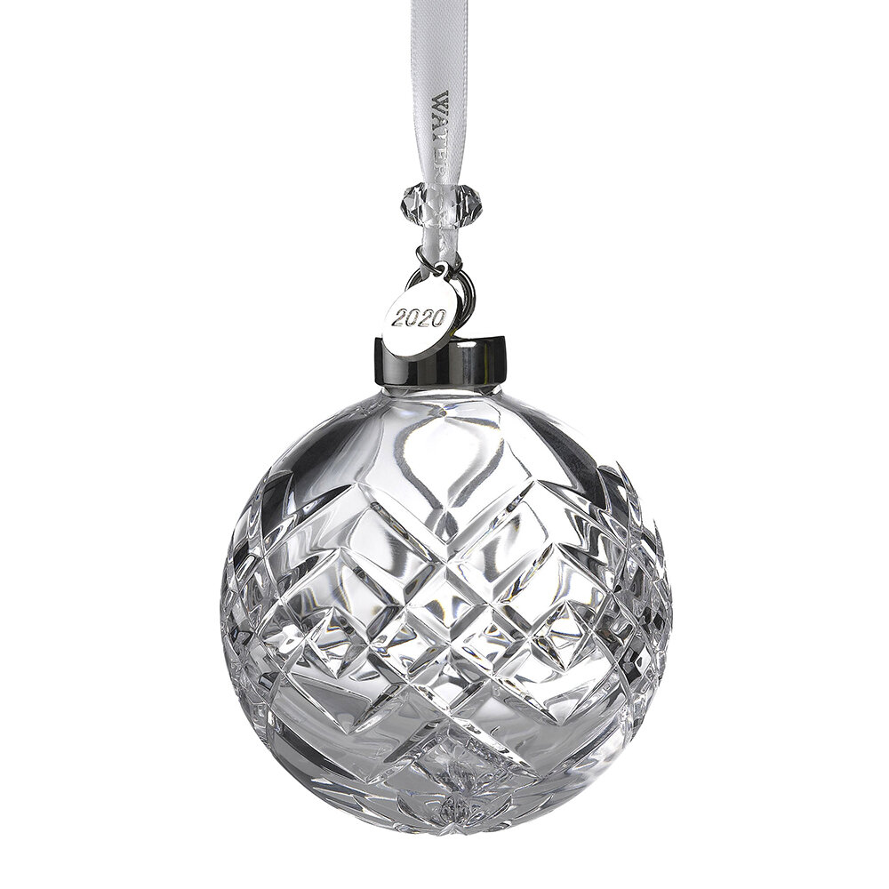 Waterford - Christmas Cut Clear Bauble
