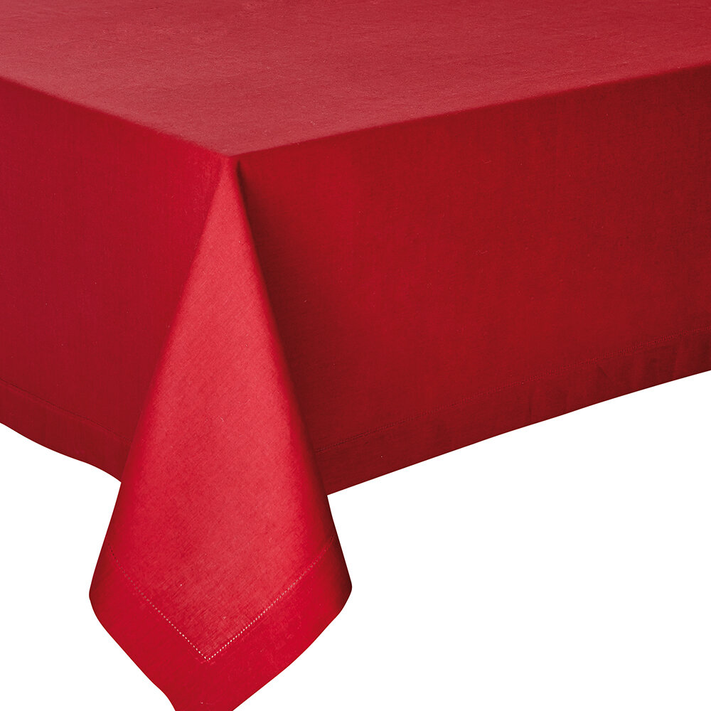 Alexandre Turpault - Nappe Florence - 170x250cm - Canneberge
