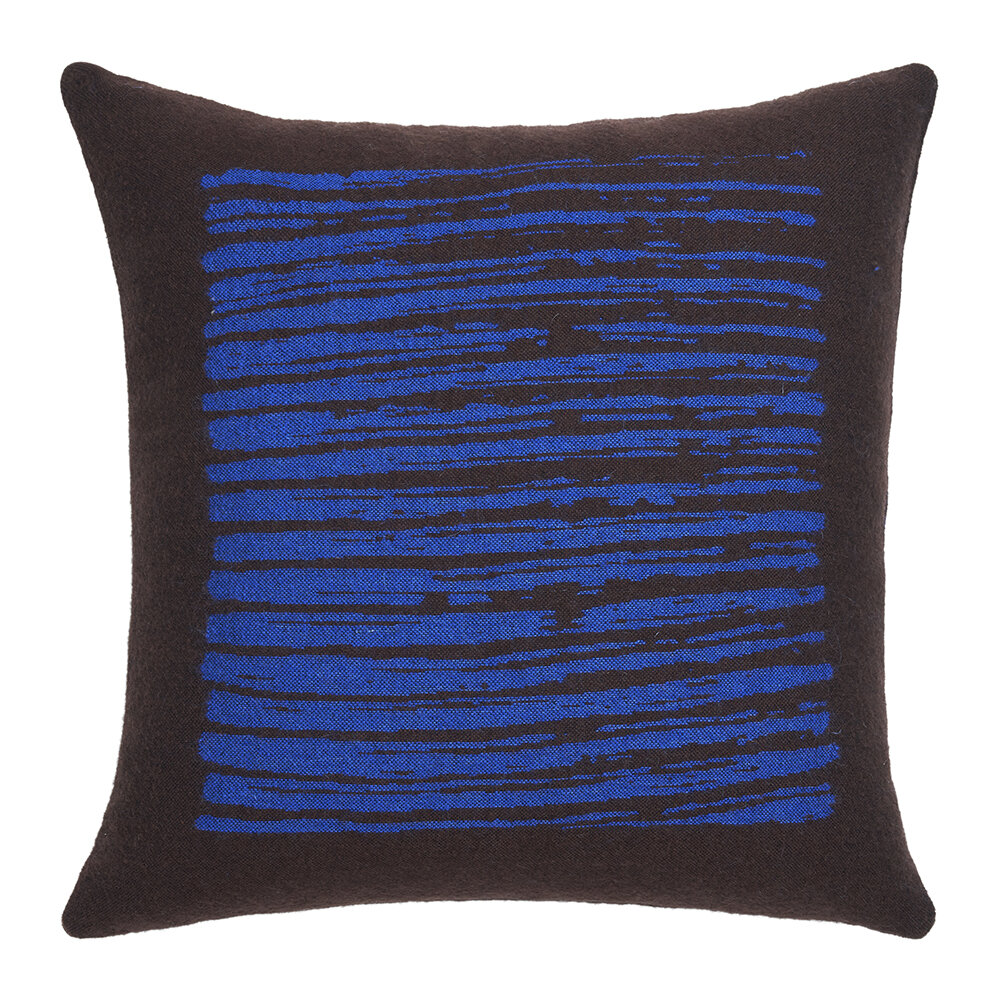 Ethnicraft - Brown Lines Pillow