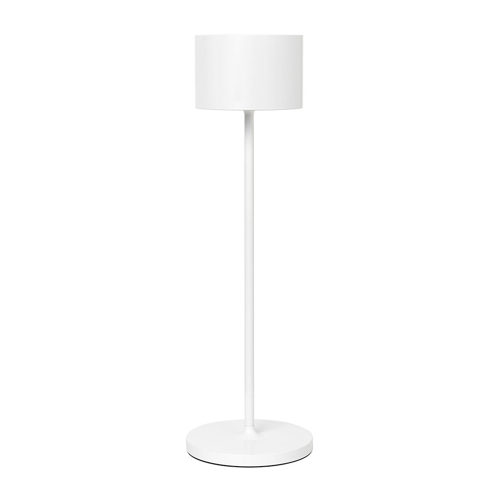 Blomus - Farol LED Rechargeable Indoor/Outdoor Lamp - White