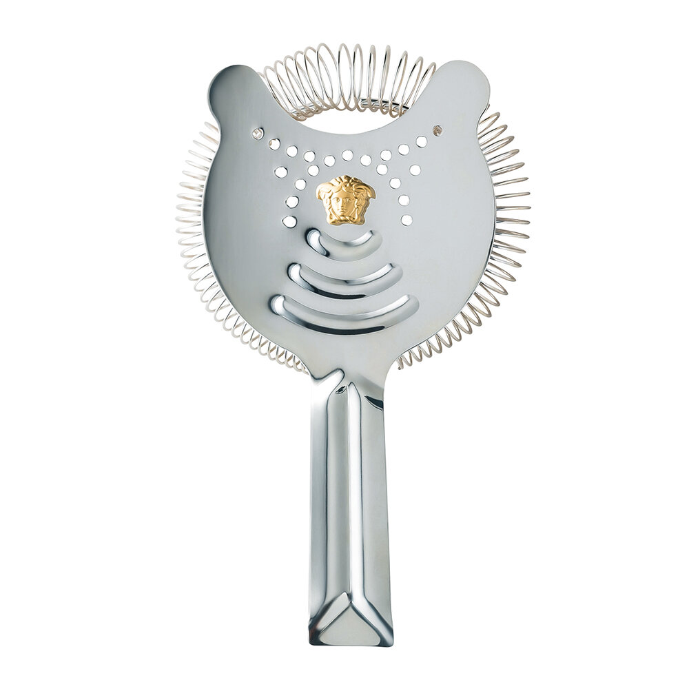 Versace Home - Bar Stainless Steel Cocktail Strainer