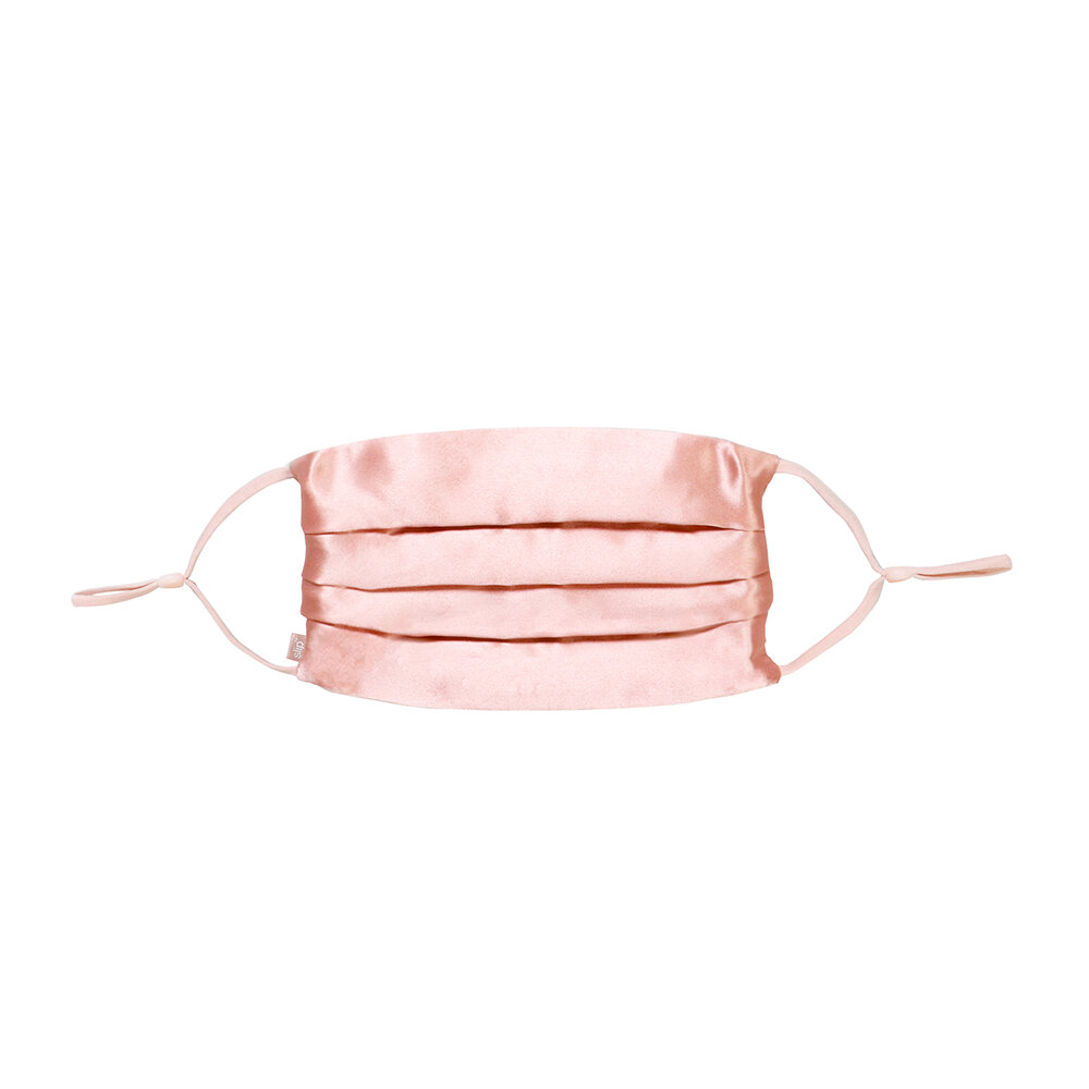 Slip - Silk Re-Usable Face Covering - Rose Gold