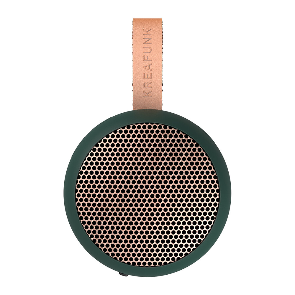 KREAFUNK - aGo Bluetooth Speaker - Shady Green