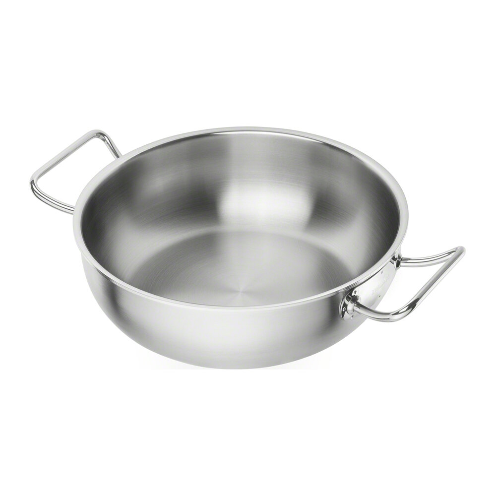 Zwilling - Zwilling Pro Wok - Stainless Steel - 30cm
