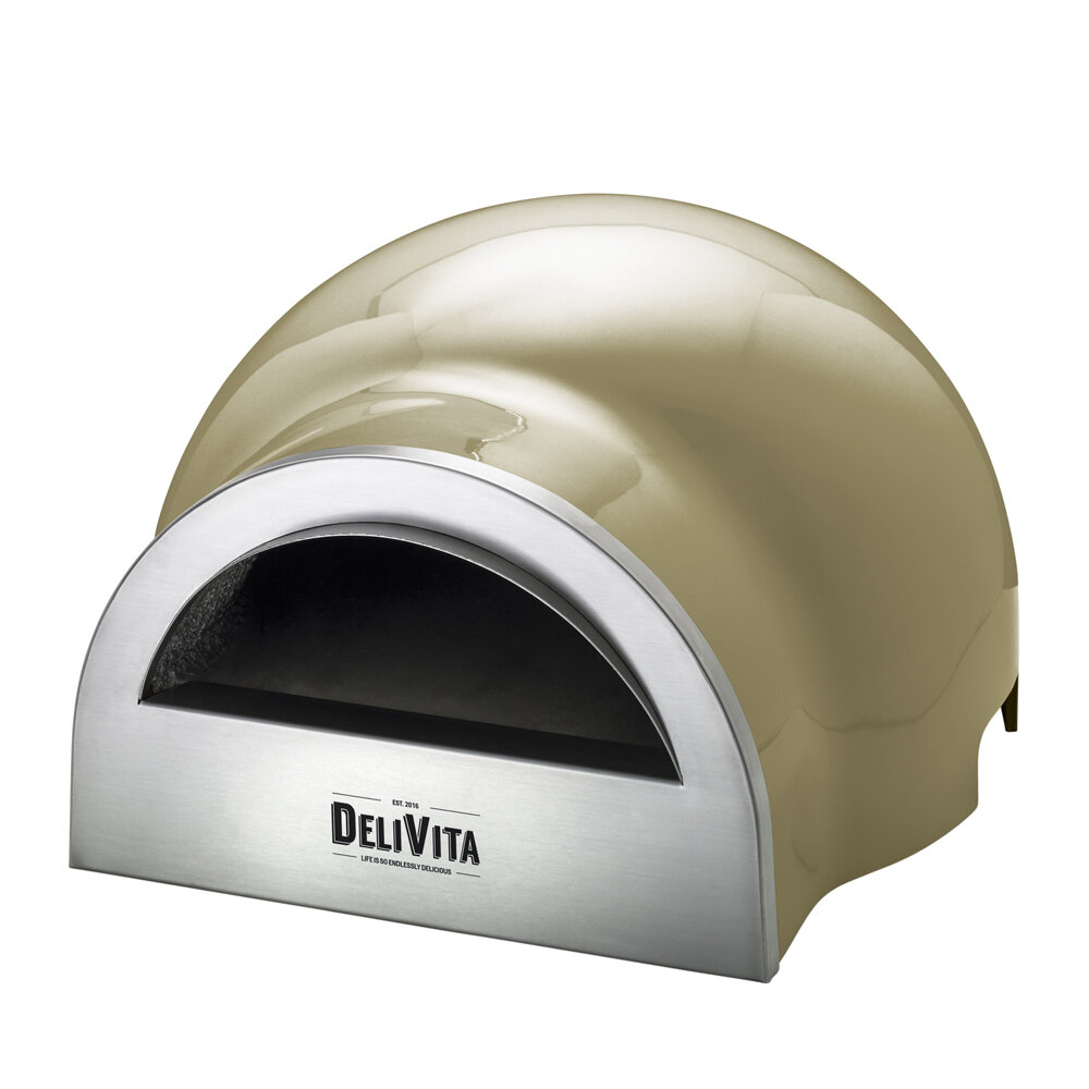 Delivita - Outdoor Pizza Oven - Olive Green