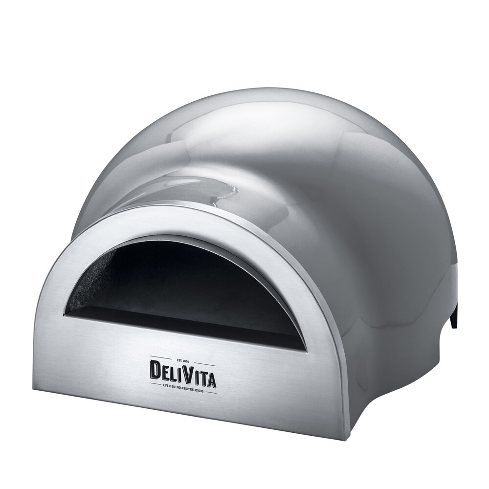 Delivita - Outdoor Pizza Oven - Hale Grey