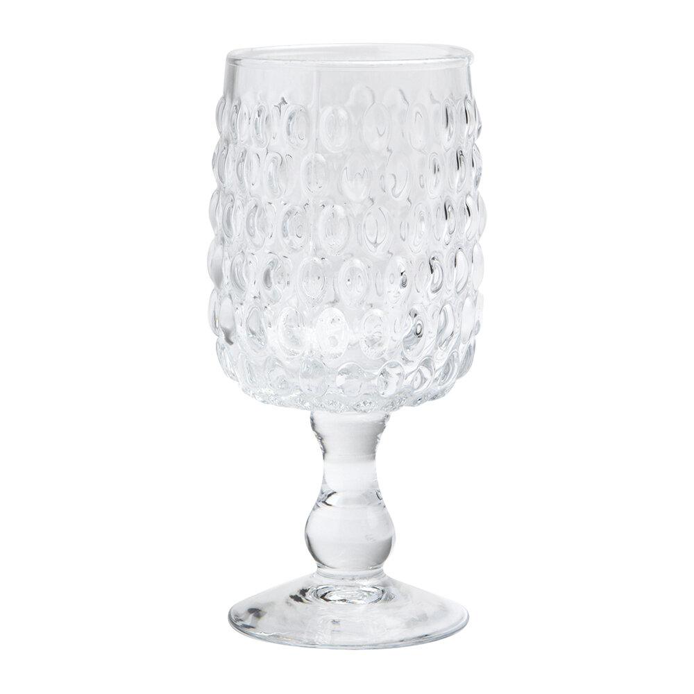 Blue Pheasant - Claire Wine Glass - Clear