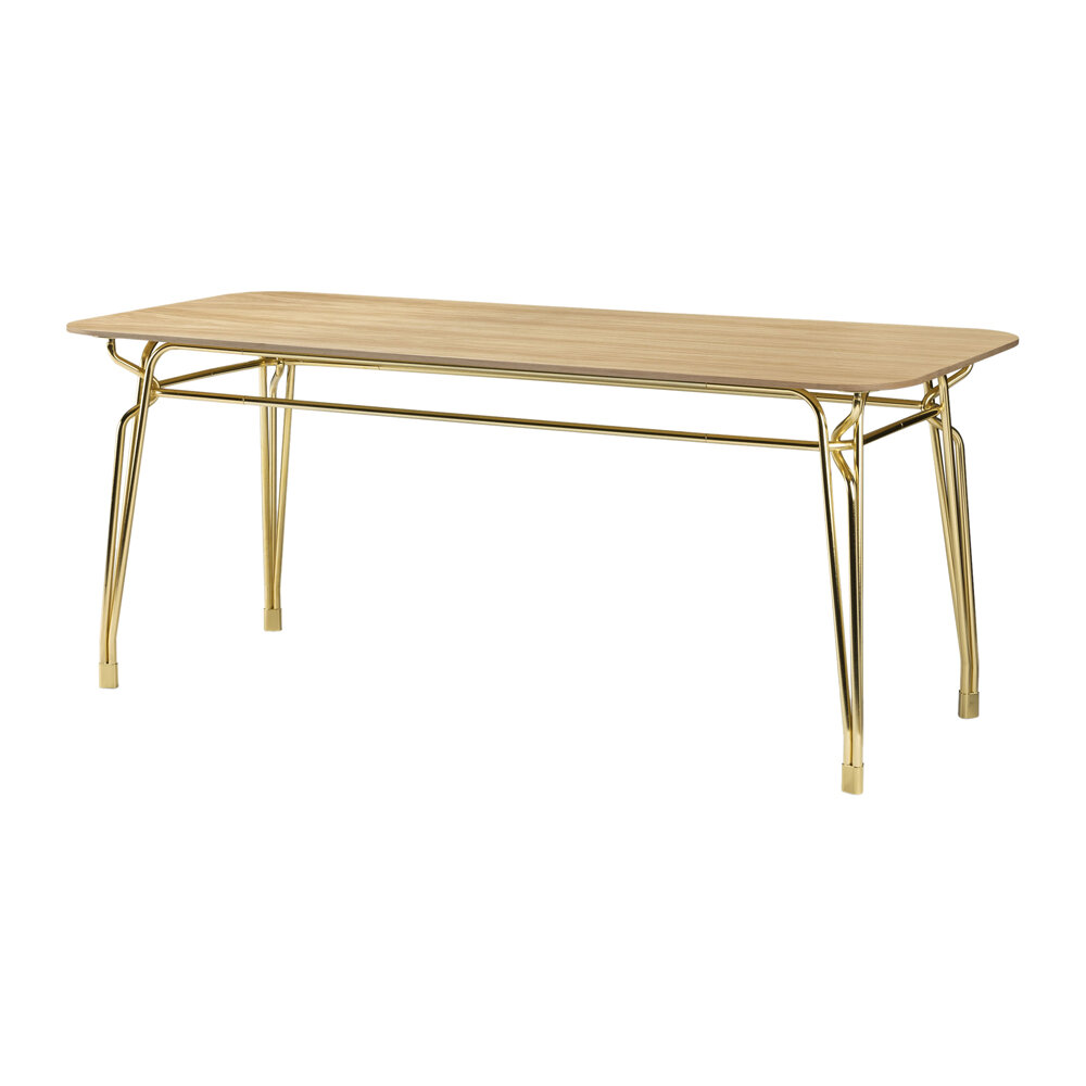 GHIDINI 1961 - Botany Dining Table - Pink/Gold - Small