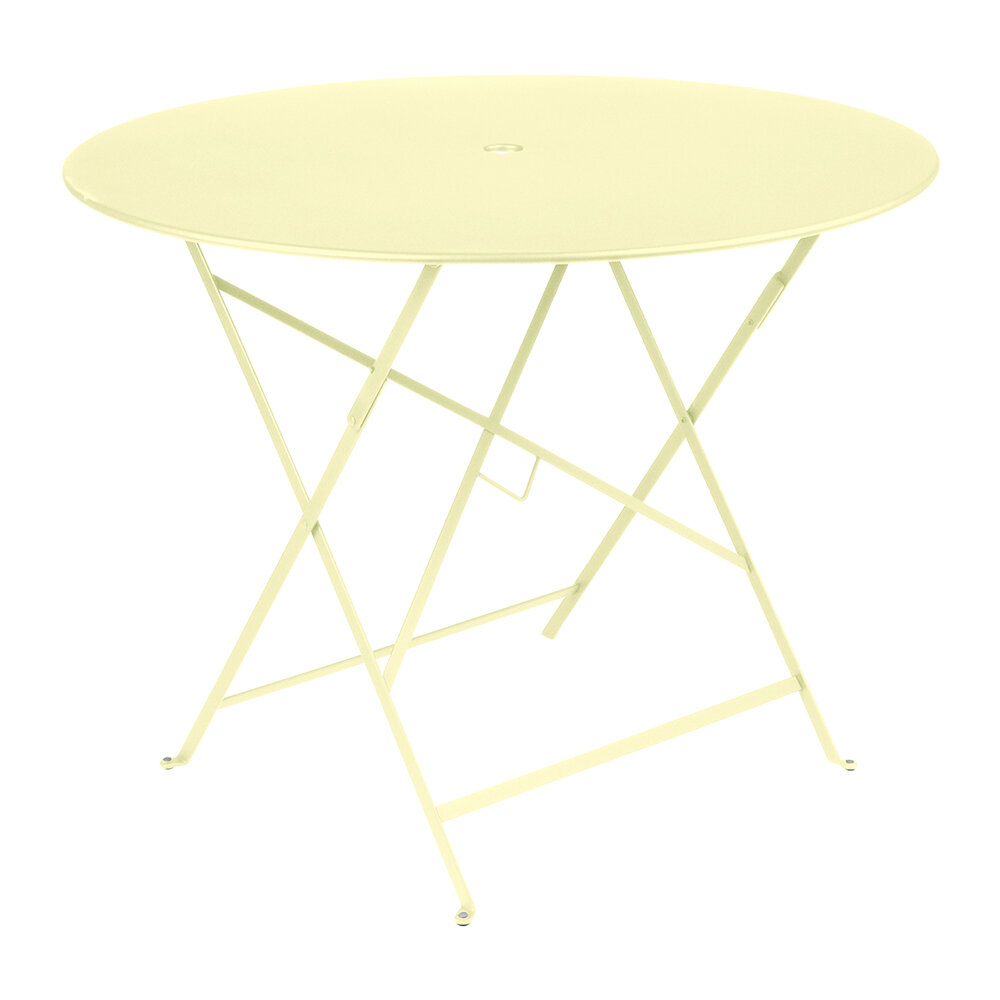 Fermob - Bistro Garden Table - 96cm - Frosted Lemon