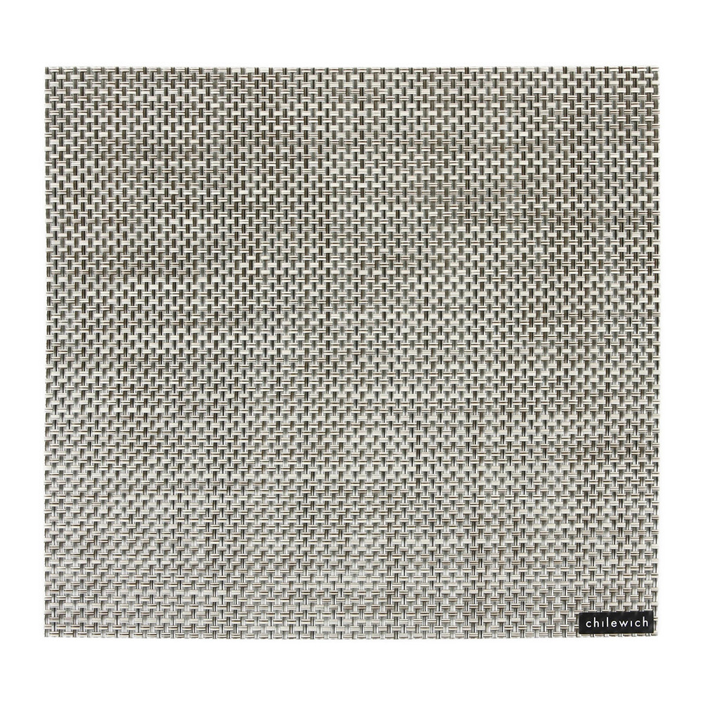 Chilewich - Basketweave Square Placemat - Oyster