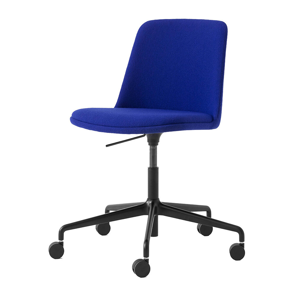 &Tradition - Rely Office Chair HW31 - Royal Blue
