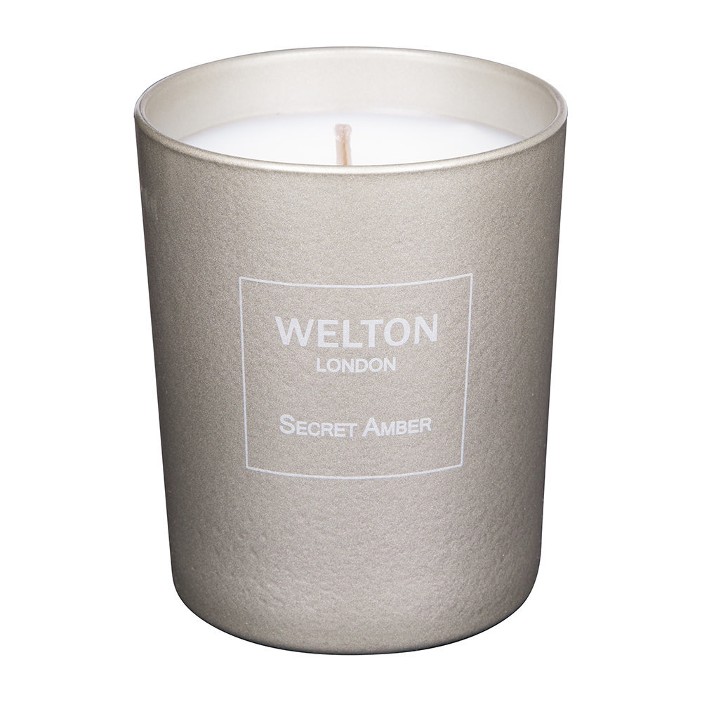 Welton London - Metallic Secret Amber Scented Candle - Small