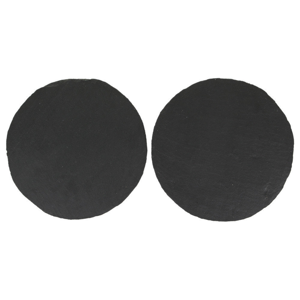 The Just Slate Company - Round Placemats - Set of 2