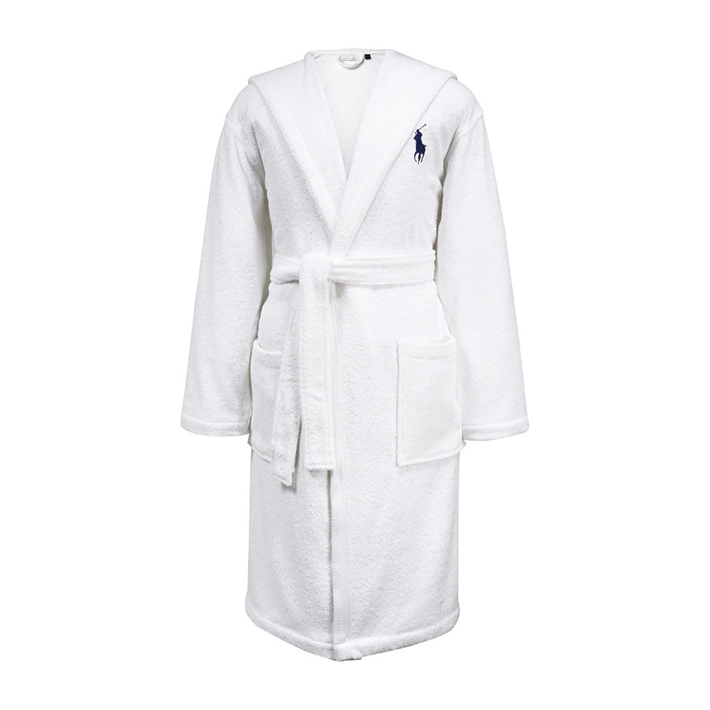 Ralph Lauren Home - Player Bathrobe - White