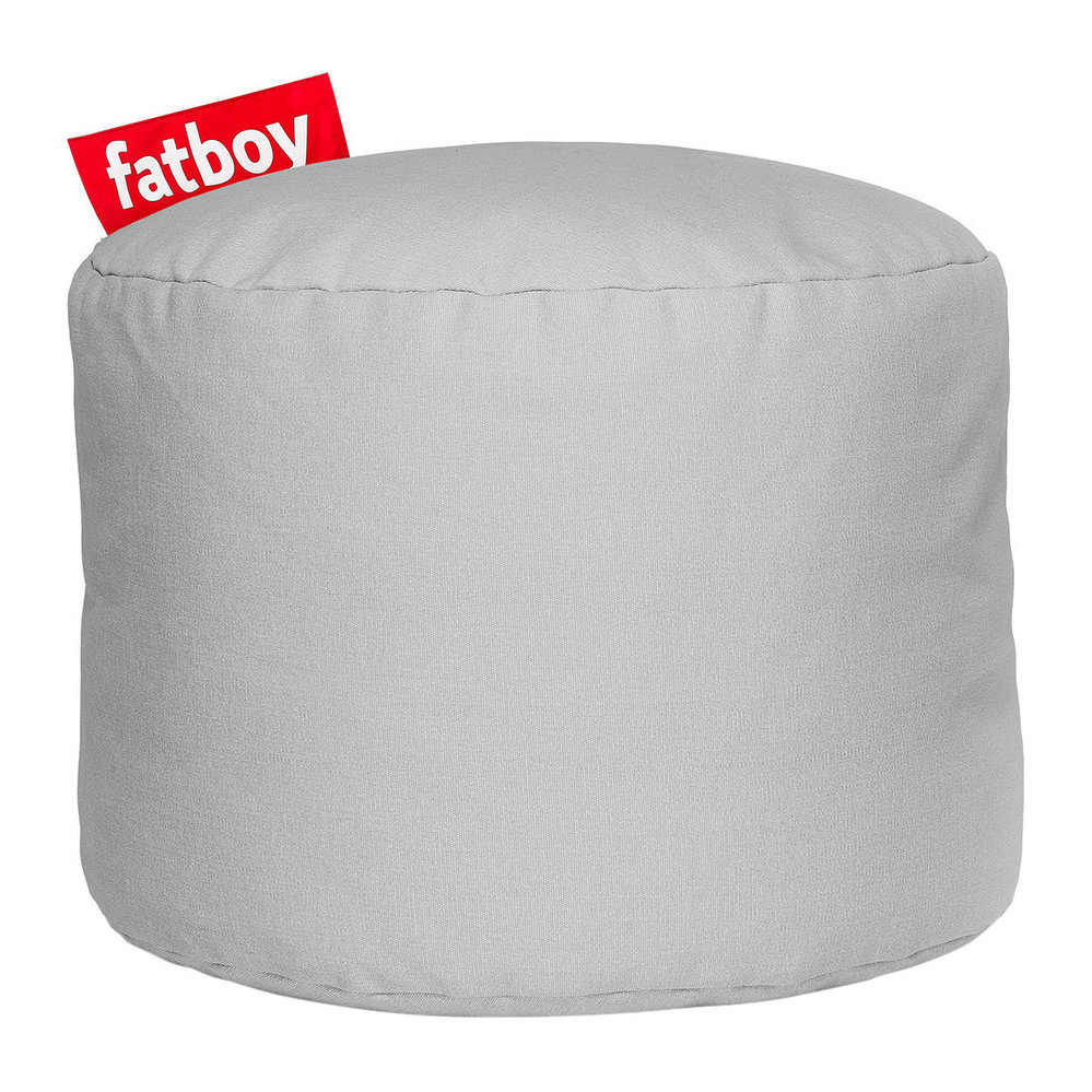 buy fatboy the point stonewashed pouf silver grey amara. Black Bedroom Furniture Sets. Home Design Ideas
