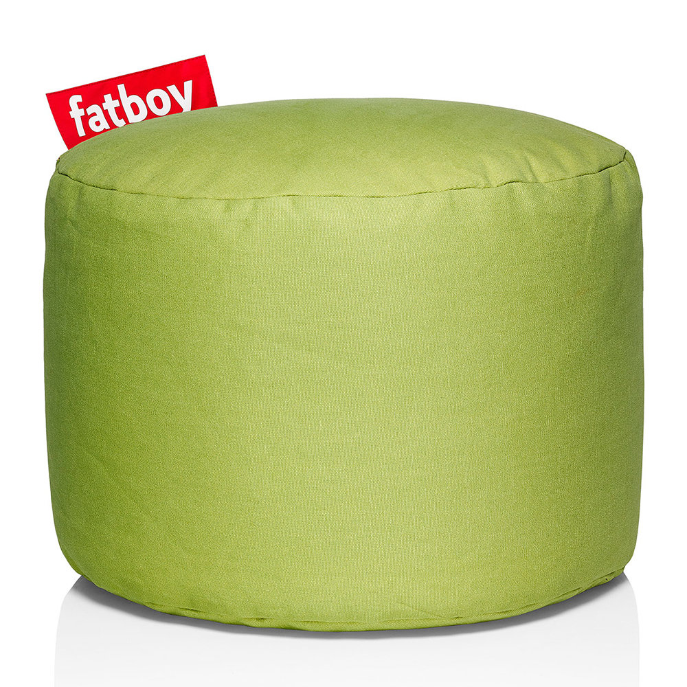 Fatboy - The Point Stonewashed Pouf - Lime Green