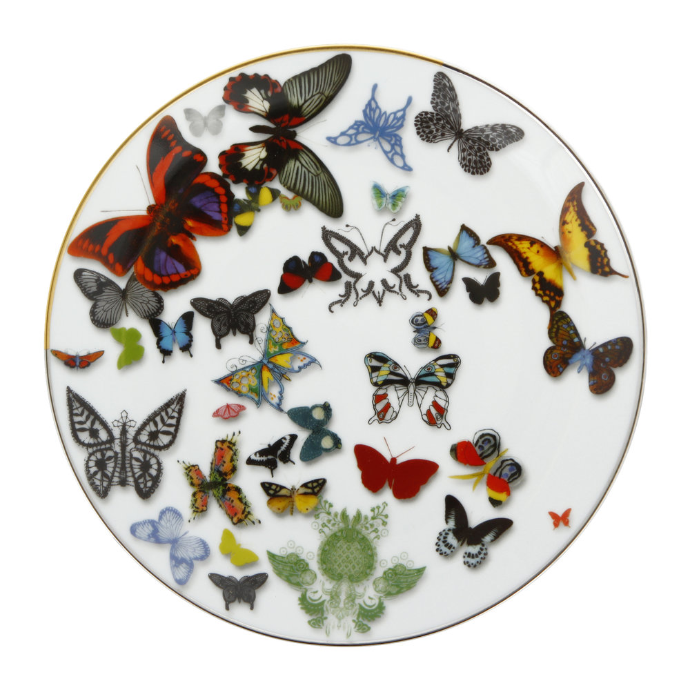 Christian Lacroix - Butterfly Parade Plate