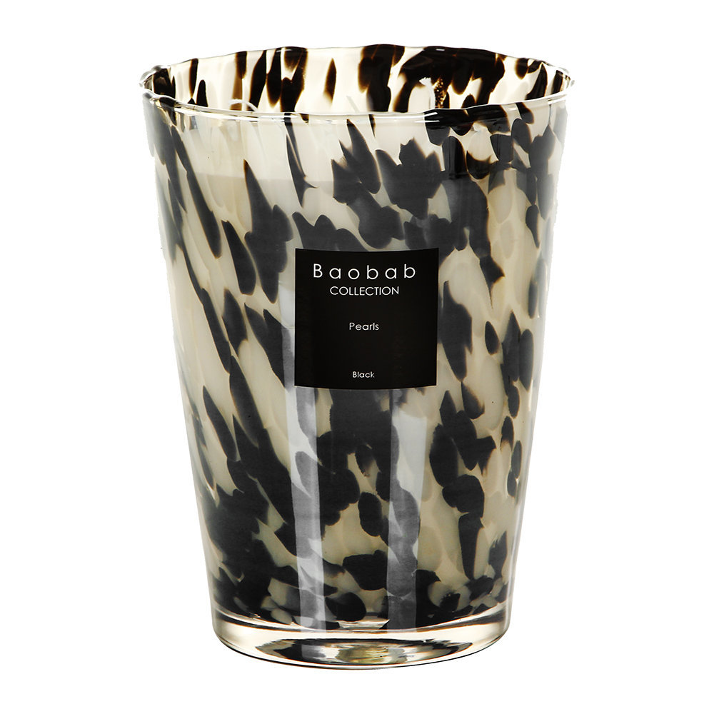 Pearls Scented Candle – Black Pearls – 24cm