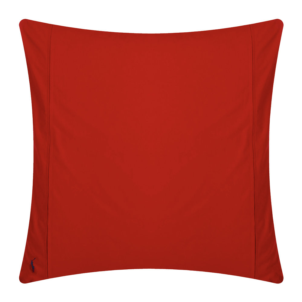 Polo Player Pillowcases Red Rose