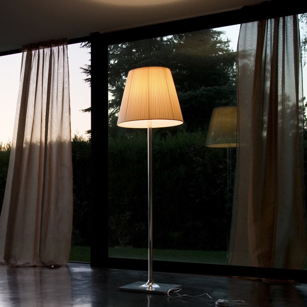 Flos Ktribe F3.Ktribe F Floor Lamp With Dimmer Fabric F3
