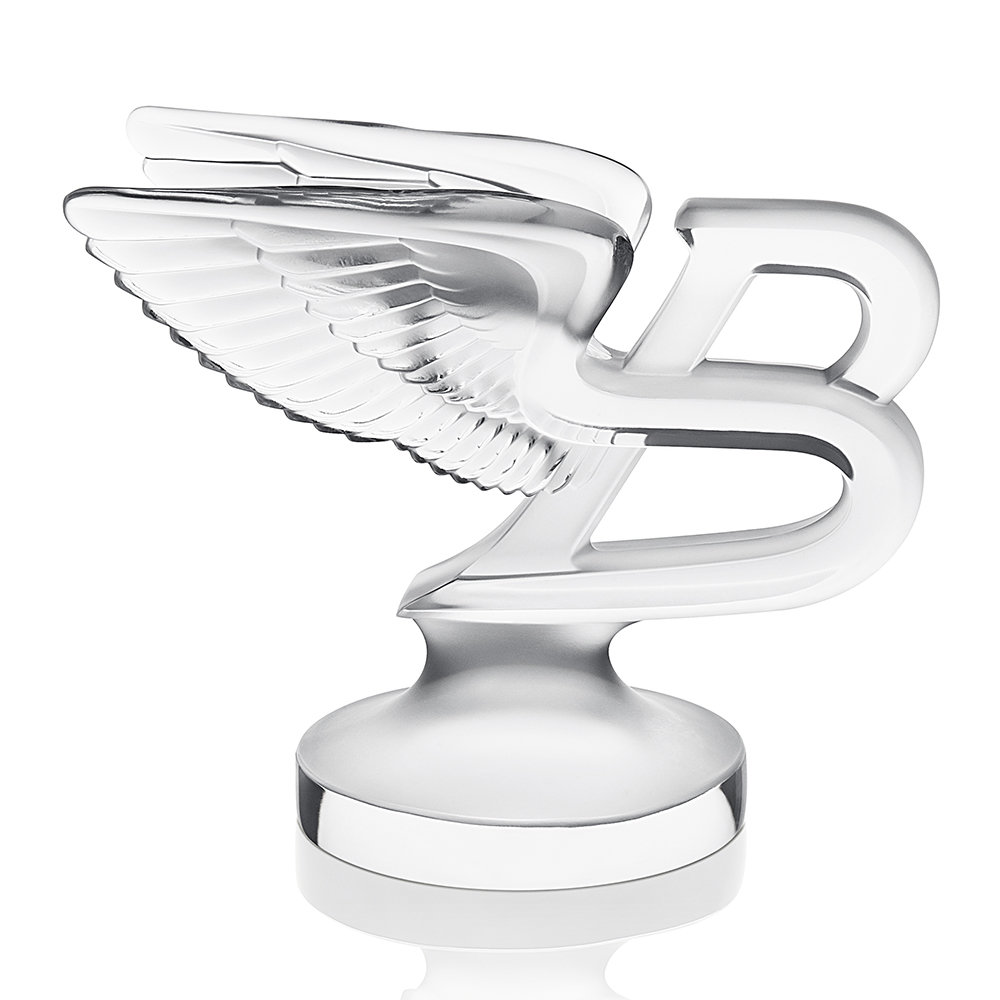 Lalique - Clear The Flying B Paperweight