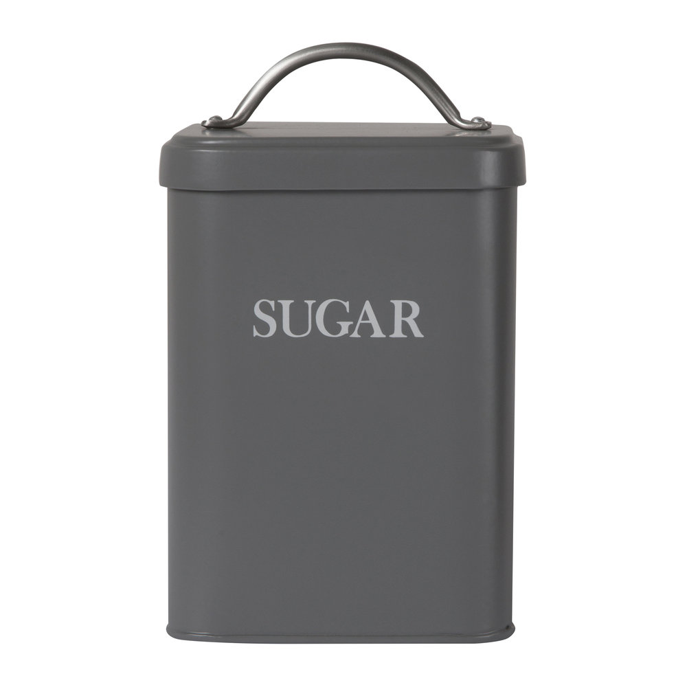 Garden Trading - Sugar Canister - Charcoal