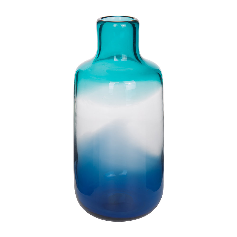 pols potten pill glass vase blue small gay times. Black Bedroom Furniture Sets. Home Design Ideas