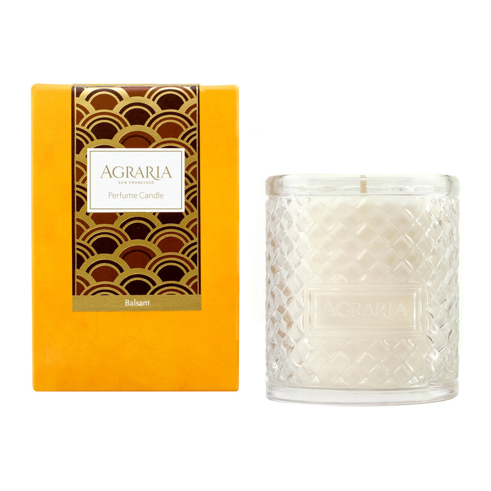 Agraria - Woven Crystal Candle - Balsam - Balsam