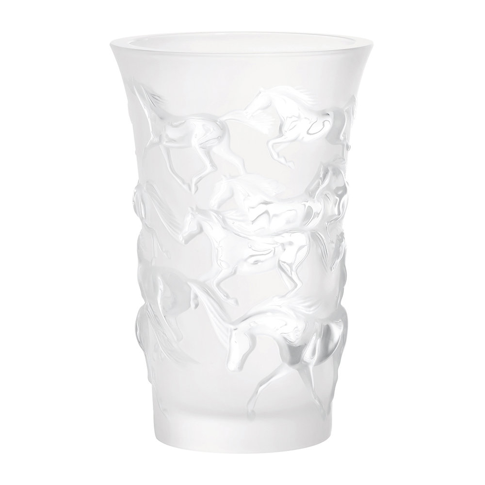 Lalique - Mustang Vase - Clear