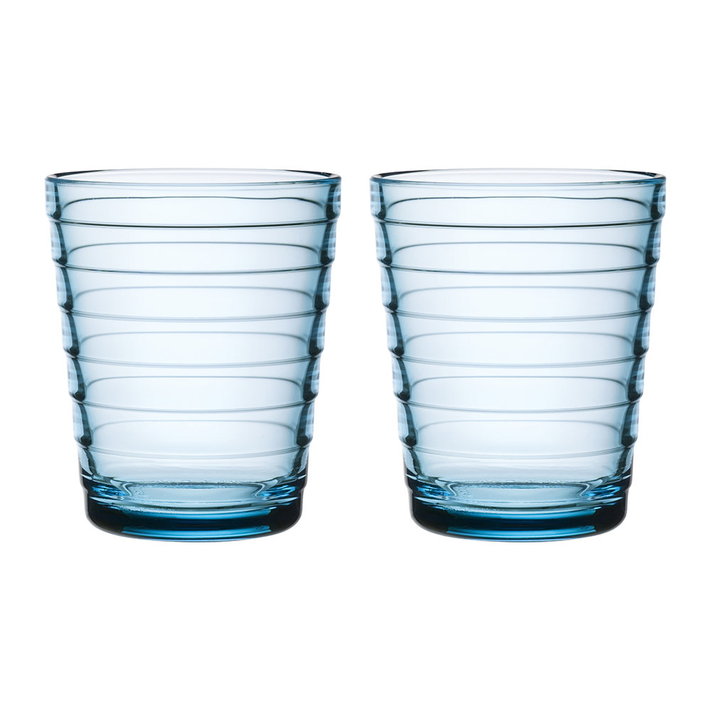 buy iittala aino aalto tumblers light blue set of 2. Black Bedroom Furniture Sets. Home Design Ideas