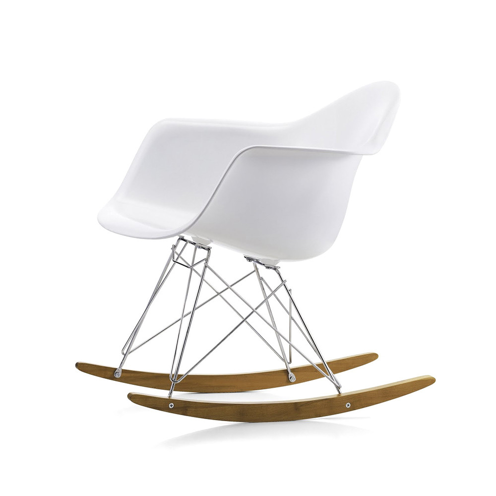 buy vitra eames plastic armchair white amara. Black Bedroom Furniture Sets. Home Design Ideas