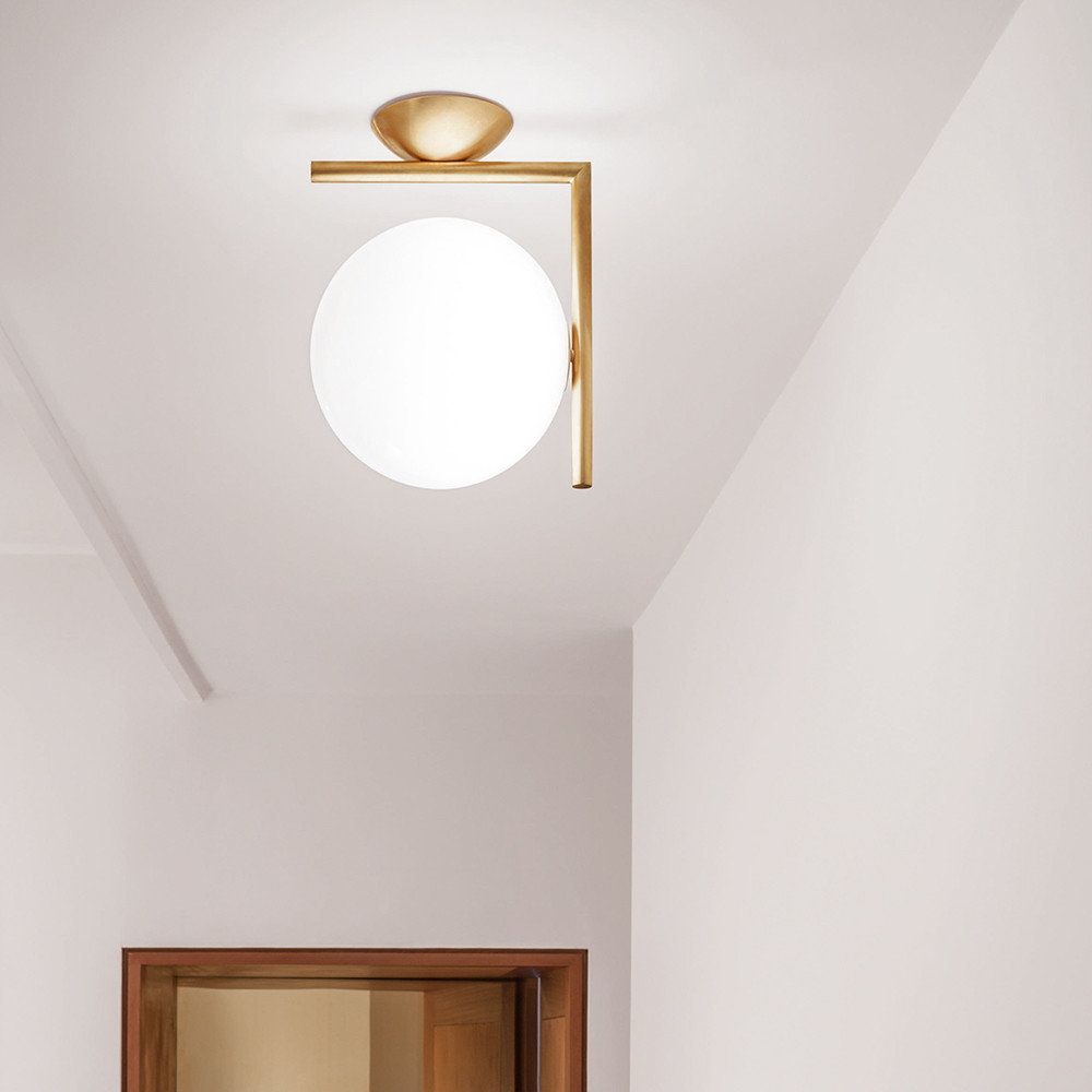 Ic Wall Ceiling Light Br W1