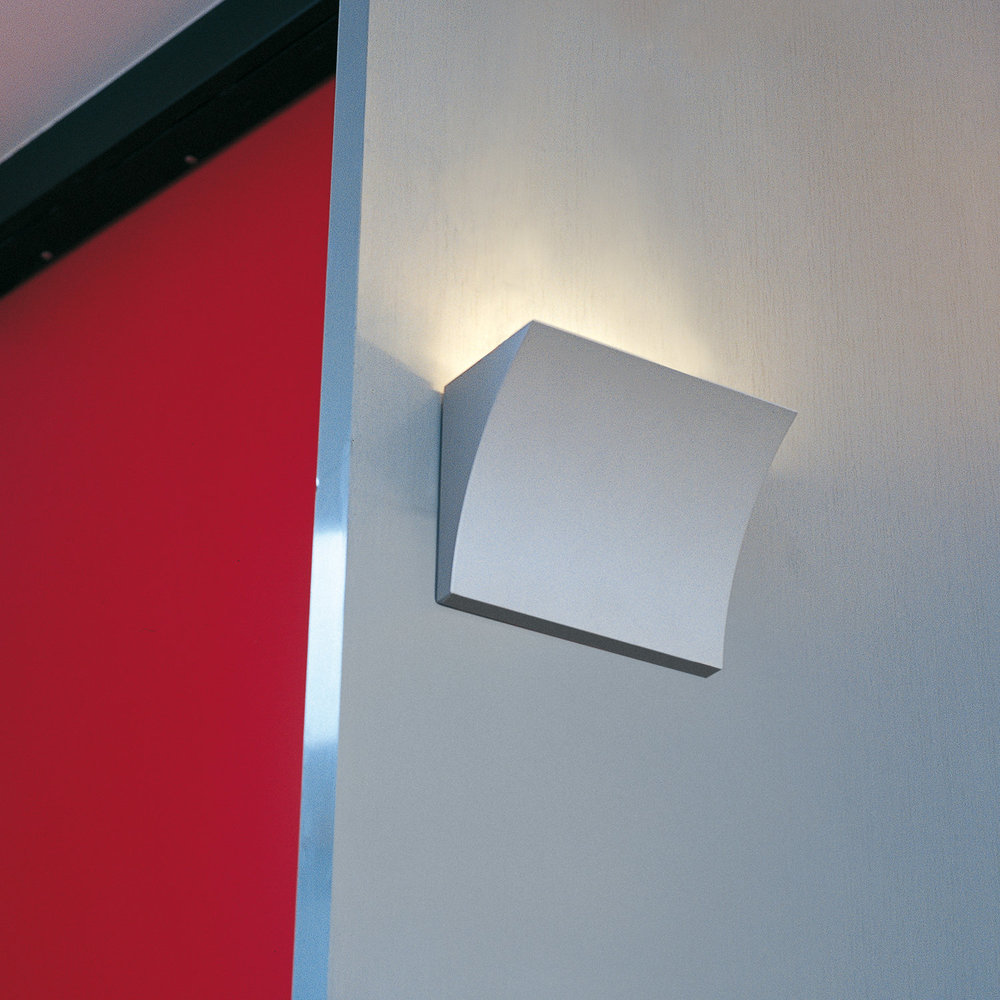 Flos - Pochette Wall Light - Grey - Up