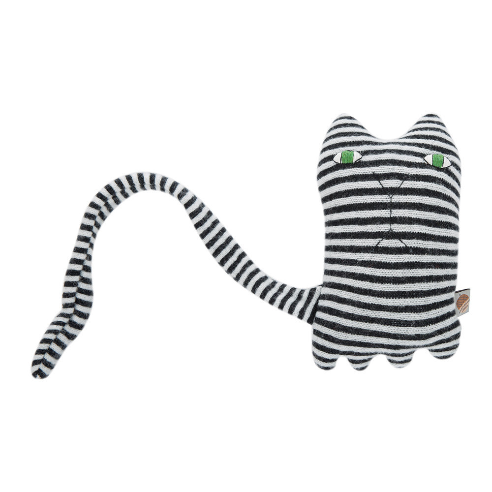 Donna Wilson Donna Wilson – Knitted Lambswool Creature – Mono Cat