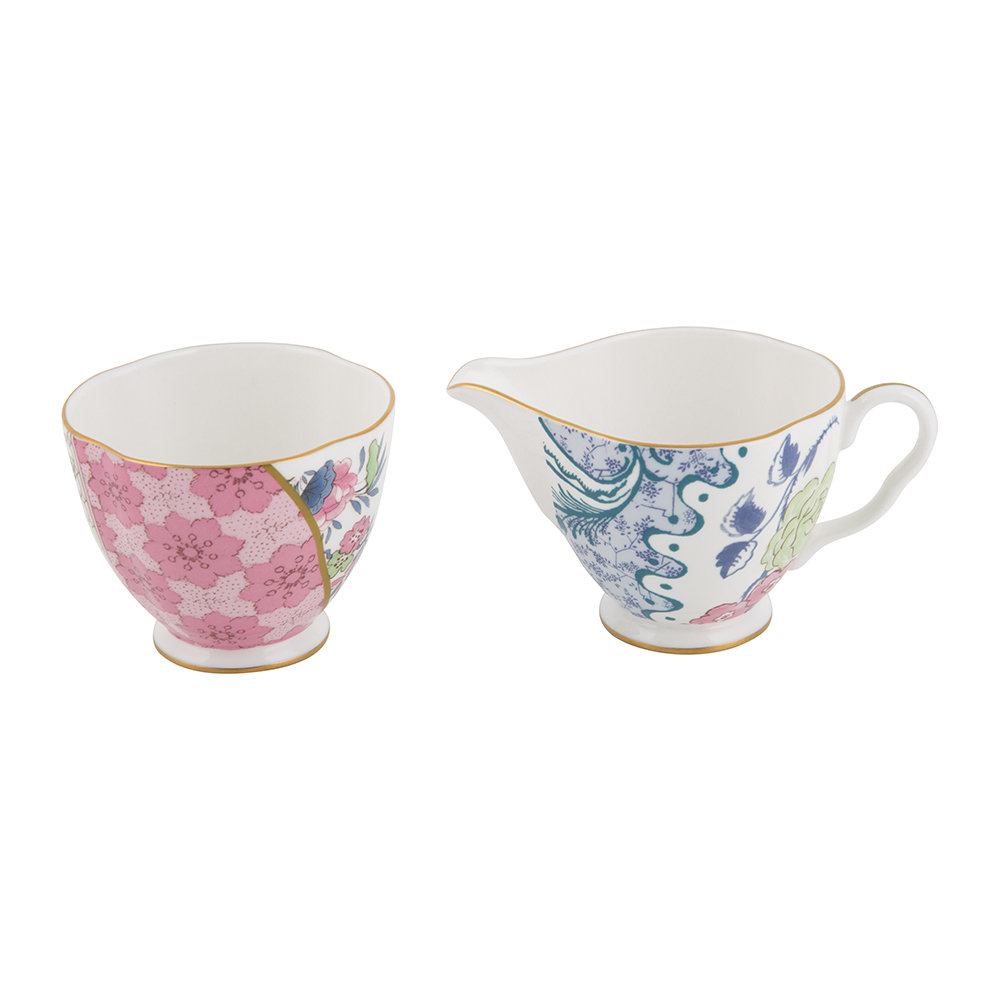 Wedgwood - Butterfly Bloom Cream and Sugar Set