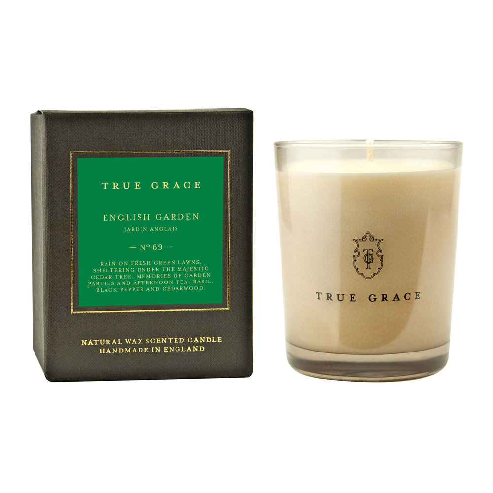 True Grace - Manor Classic Candle - English Garden - 190g